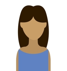 Woman female young icon vector