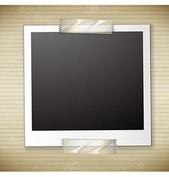 A photo frame vector