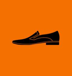 Man shoe icon vector