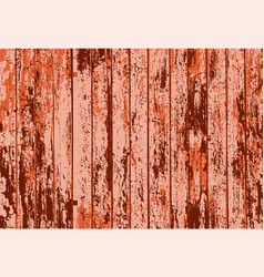 Texture of realistic orange rusted old painted vector