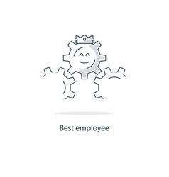 Employment conditions concept vector