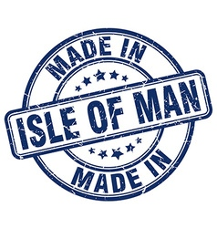 made in Isle Of Man vector image vector image