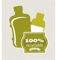Recycle concept design vector