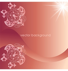 decorative cover template seventy two vector image