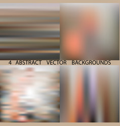 broun background set vector image vector image
