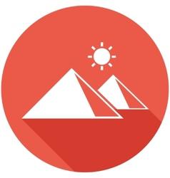 Travel flat icon vector