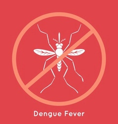 Dengue fever poster vector