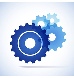Cogs gears background vector