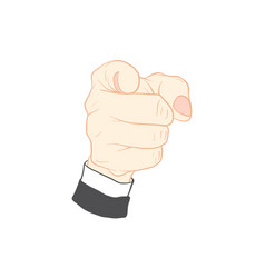 Hand action vector
