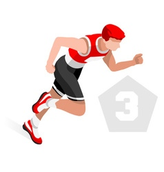 Triathlon 2016 sports 3d isometric vector
