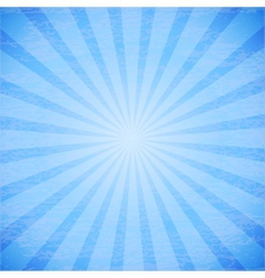 Abstract rays on blue background vector