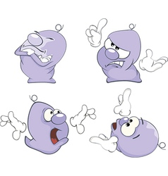 Ghosts clip art cartoon vector