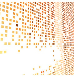 Orange bright tiles empty background vector