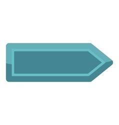 Player blue button icon cartoon style vector