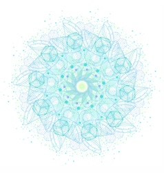 Sacred geometry symbols and elements mandala vector