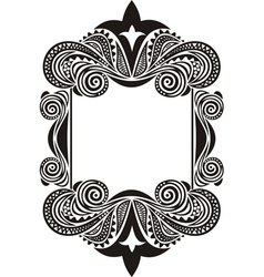Pattern frame vector