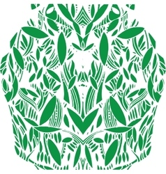 Pattern foliage vector