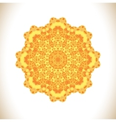 Abstract mandala background vector