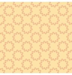 Mandala simple hand drawn seamless pattern vector image
