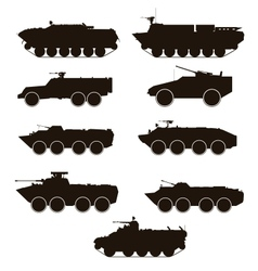 ARMOURED PERSONNEL CARRIER vector image