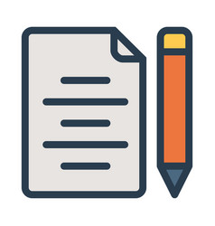 page vector image
