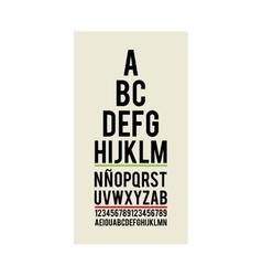 eye test optical paper vector image
