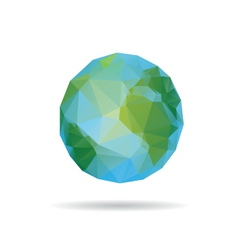 Earth abstract isolated vector