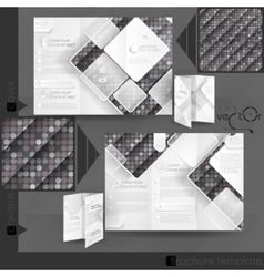 Business brochure template design vector