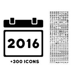 2016 plan icon vector