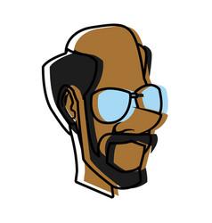 Adult man cartoon vector