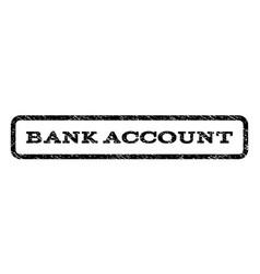 Bank account watermark stamp vector