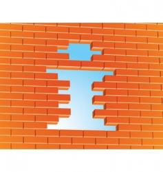 Info wall vector