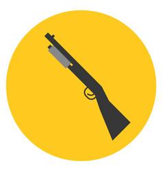 shot gun vector image