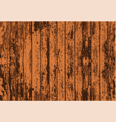Texture of realistic bright brown old painted vector
