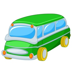 Toy bus vector