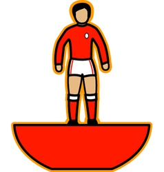Subbuteo player vector