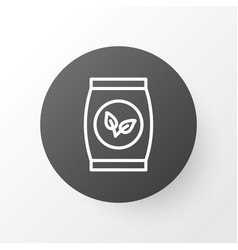 Packet icon symbol premium quality isolated plant vector