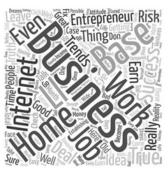 Business entrepreneur ideas trends text background vector