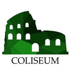 Colosseum icon vector