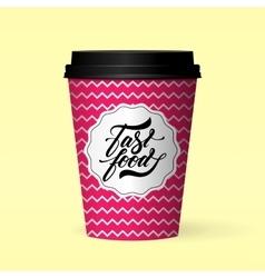 Fastfood logo design concept vector
