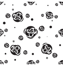 Flower Seamless pattern Floral stylish background vector image