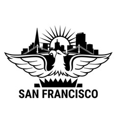 San francisco eagle vector