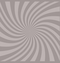 Spiral background - graphic from twisted rays vector