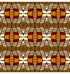 pixel modern geometric seamless pattern vector image