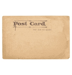 antique postcard in - see more in my profile vector image