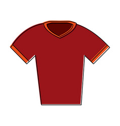 American football shirt vector