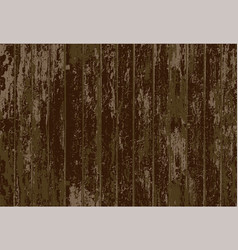 Texture of realistic dark brown old painted vector