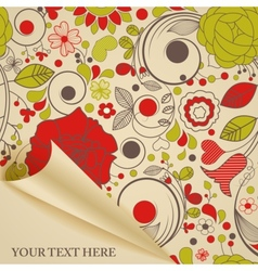 Decorative paper vector