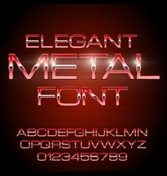 Alphabet font vector