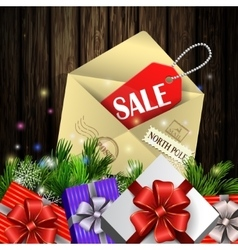 Boxing day background vector image vector image